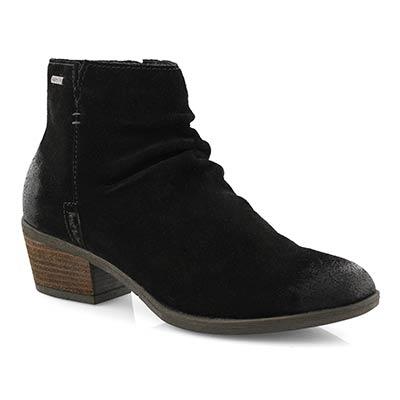 Lds Daphne 50 schwarz wtpf slip on boot