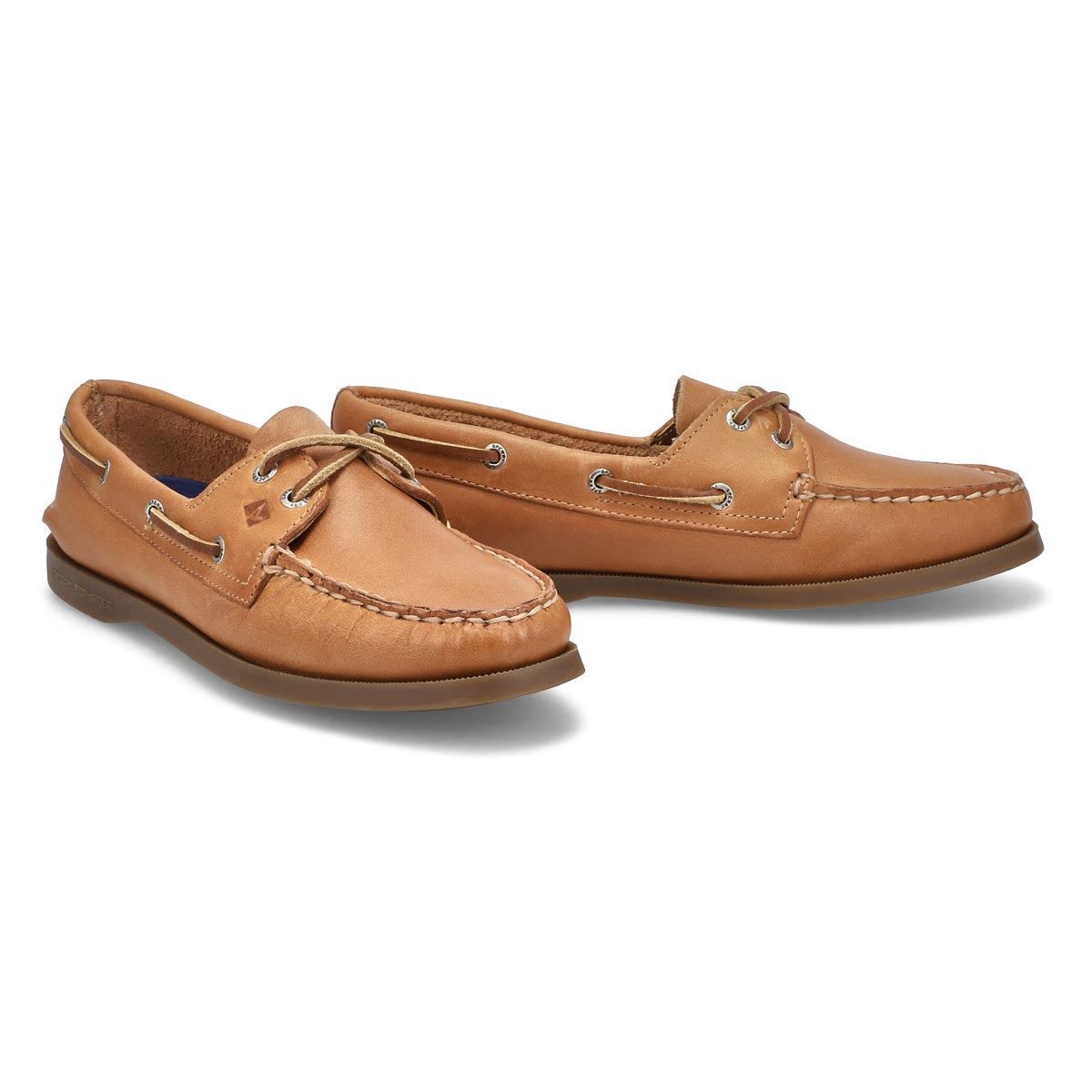 Lds A/O 2-eye sahara boat shoe