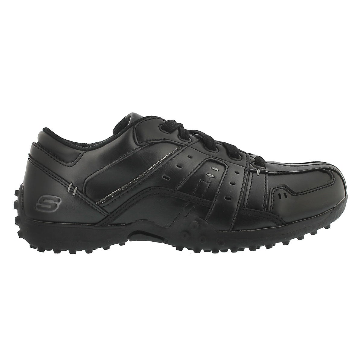 Boys Wieland black casual shoe