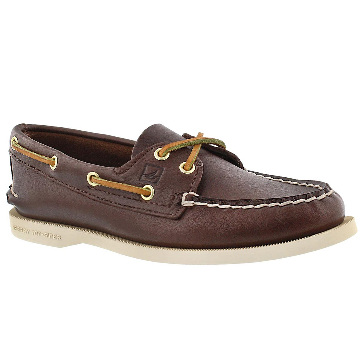 Womens boat shoes brown