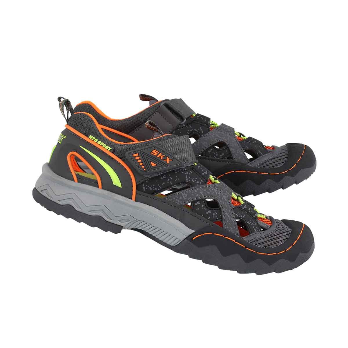 Bys Whipsaw Wander Trek char/orng sandal