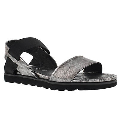 Lds Jolien 05 silver casual sandal