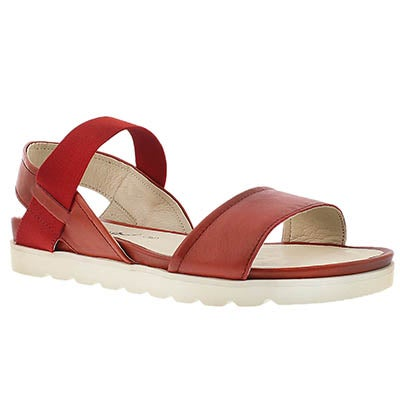 Josef Seibel Women's JOLIEN 05 red casual comfort sandals