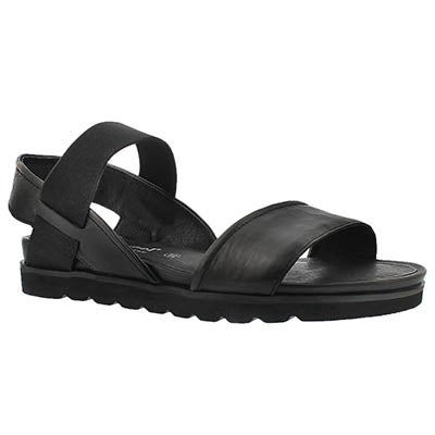 Josef Seibel Women's JOLIEN 05 black casual comfort sandals