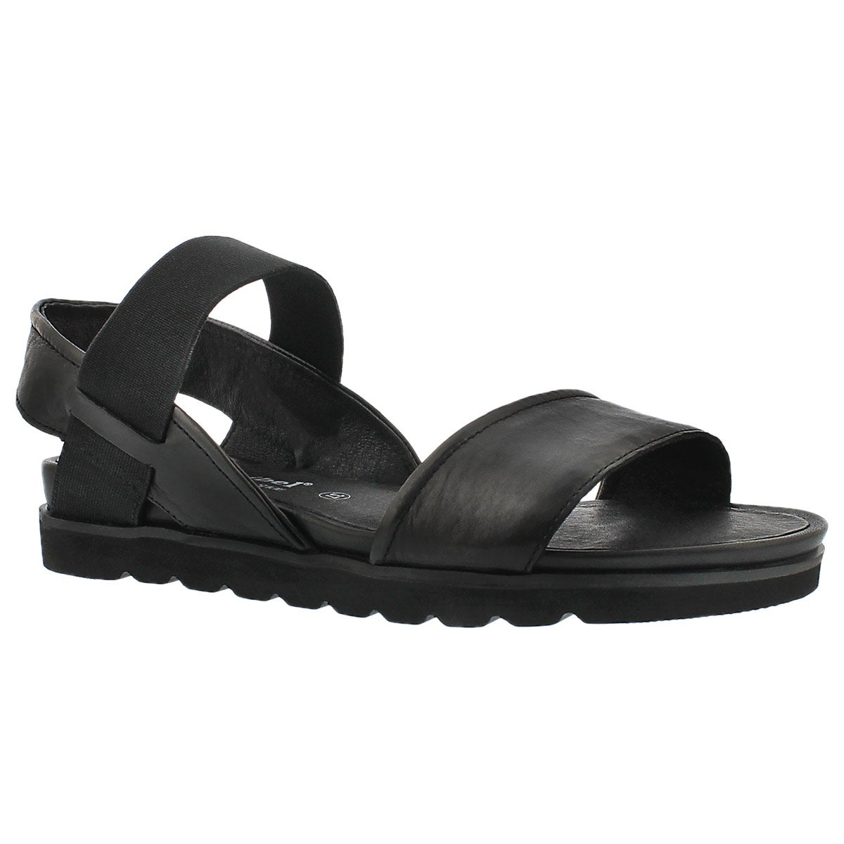 Lds Jolien 05 black casual sandal
