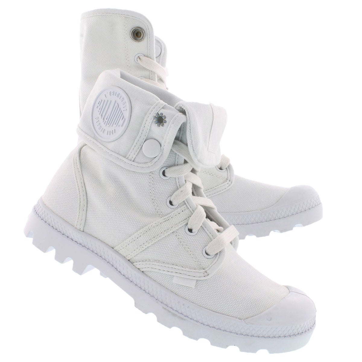 Lds Pallabrouse Baggy white casual boot