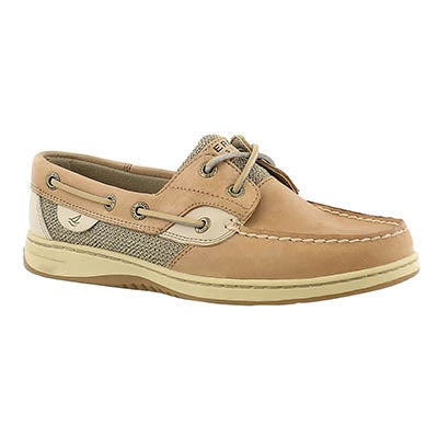 Sperry Chaussure bateau lin/avoine BLUEFISH, femmes-Large