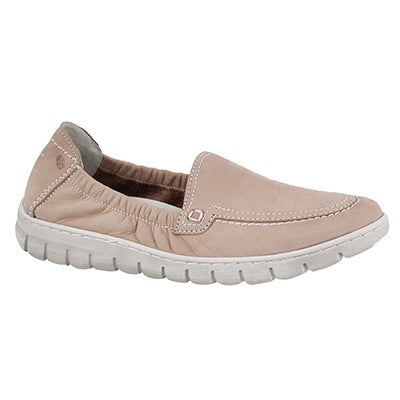 Lds Steffi 57 nude slip on shoe