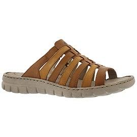 Lds Stefanie 05 camel casual sandal