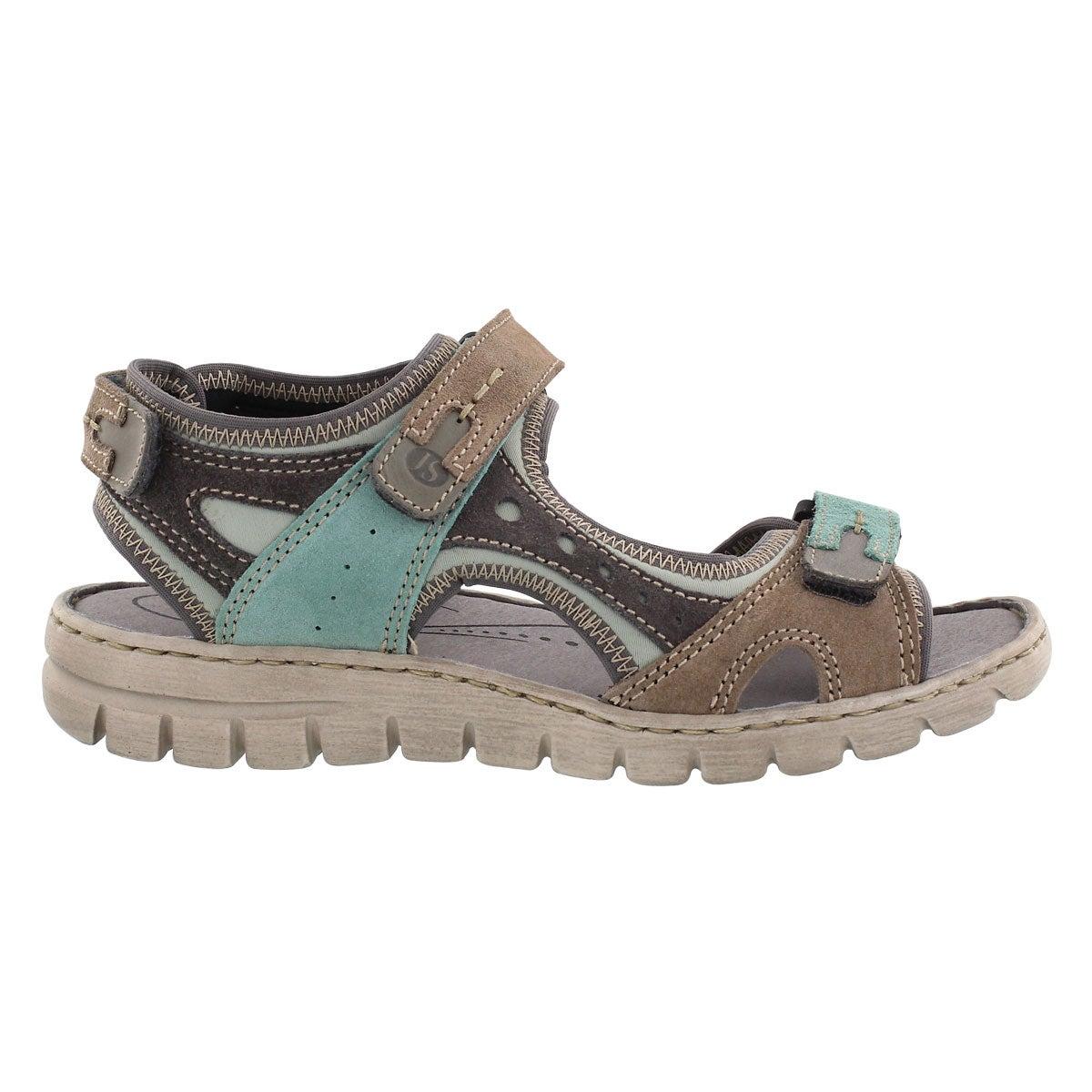Lds Stefanie 23 mint multi sport sandal