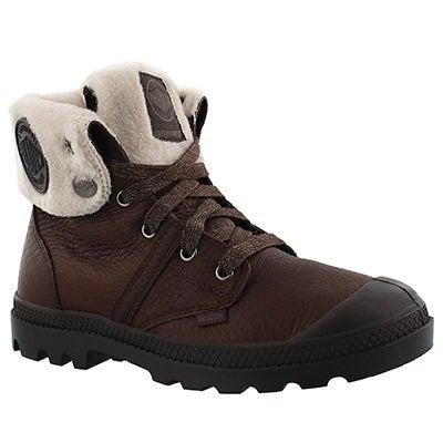 Palladium Women's PALLABROUSE chocolate waterproof boots