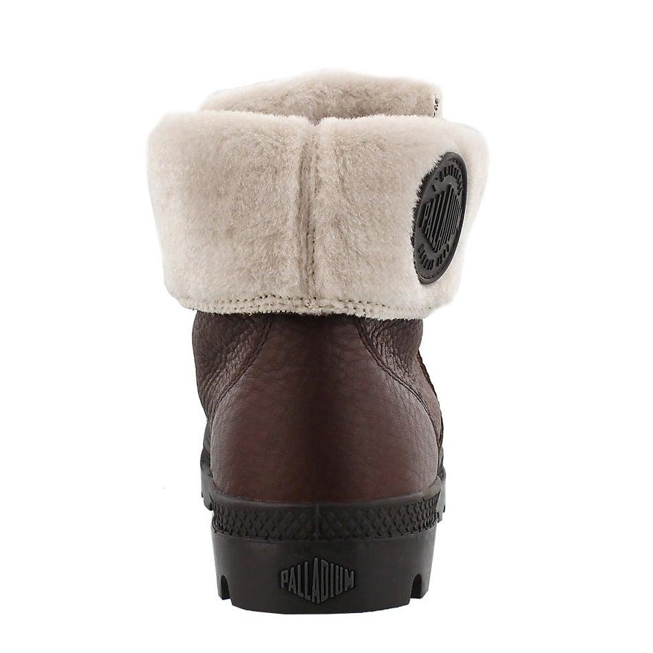 Lds Pallabrouse chocolat waterproof boot