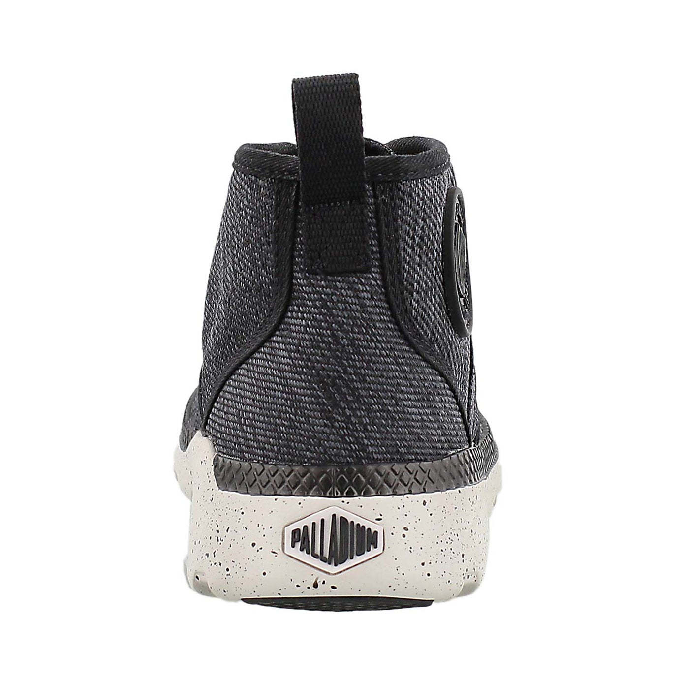 Lds Pallaville Hi blk/wnd chme sneaker