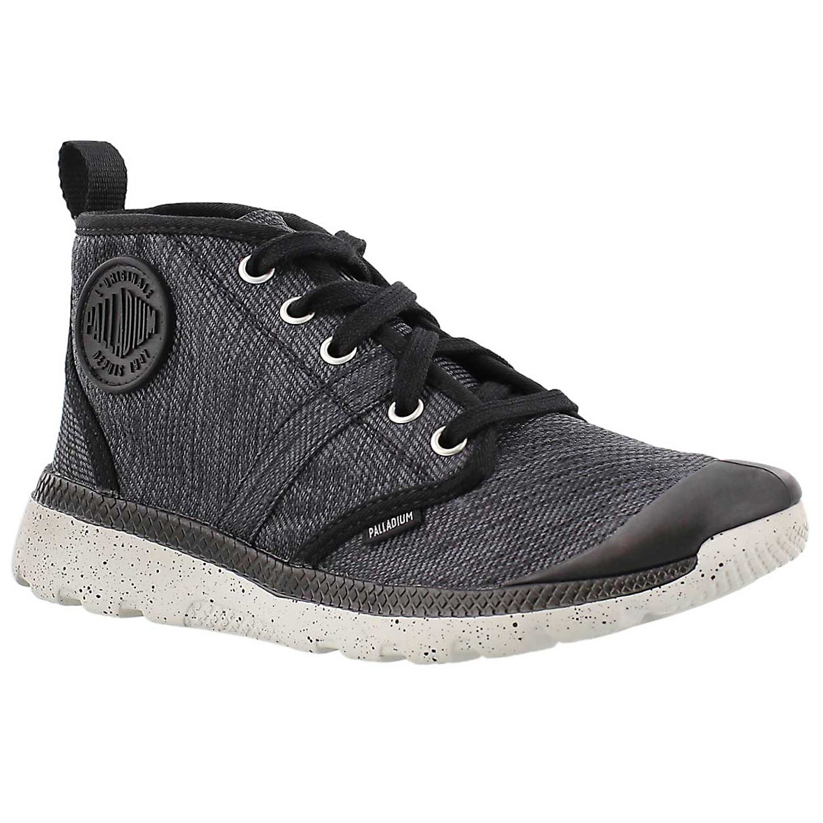 Women's PALLAVILLE HI black sneakers