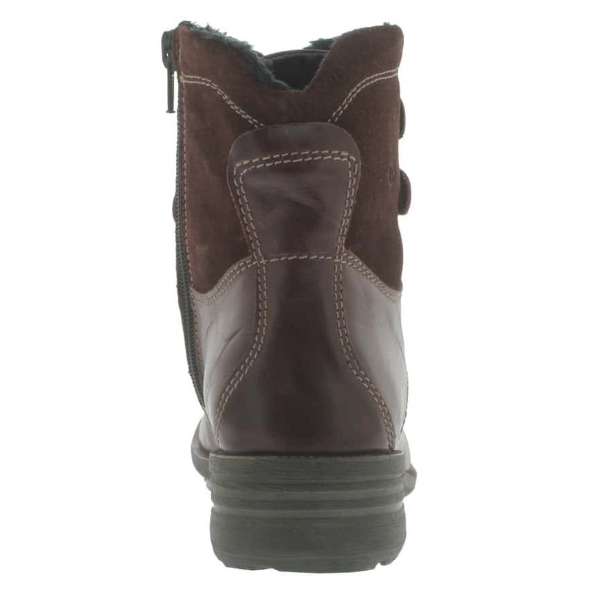 Lds Sandra 14 win lthr laceup ankle boot