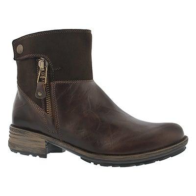 Josef Seibel Women's SANDRA 24 moro zip up ankle boots