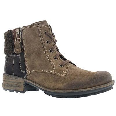 Josef Seibel Women's SANDRA 28 taupe ankle boots