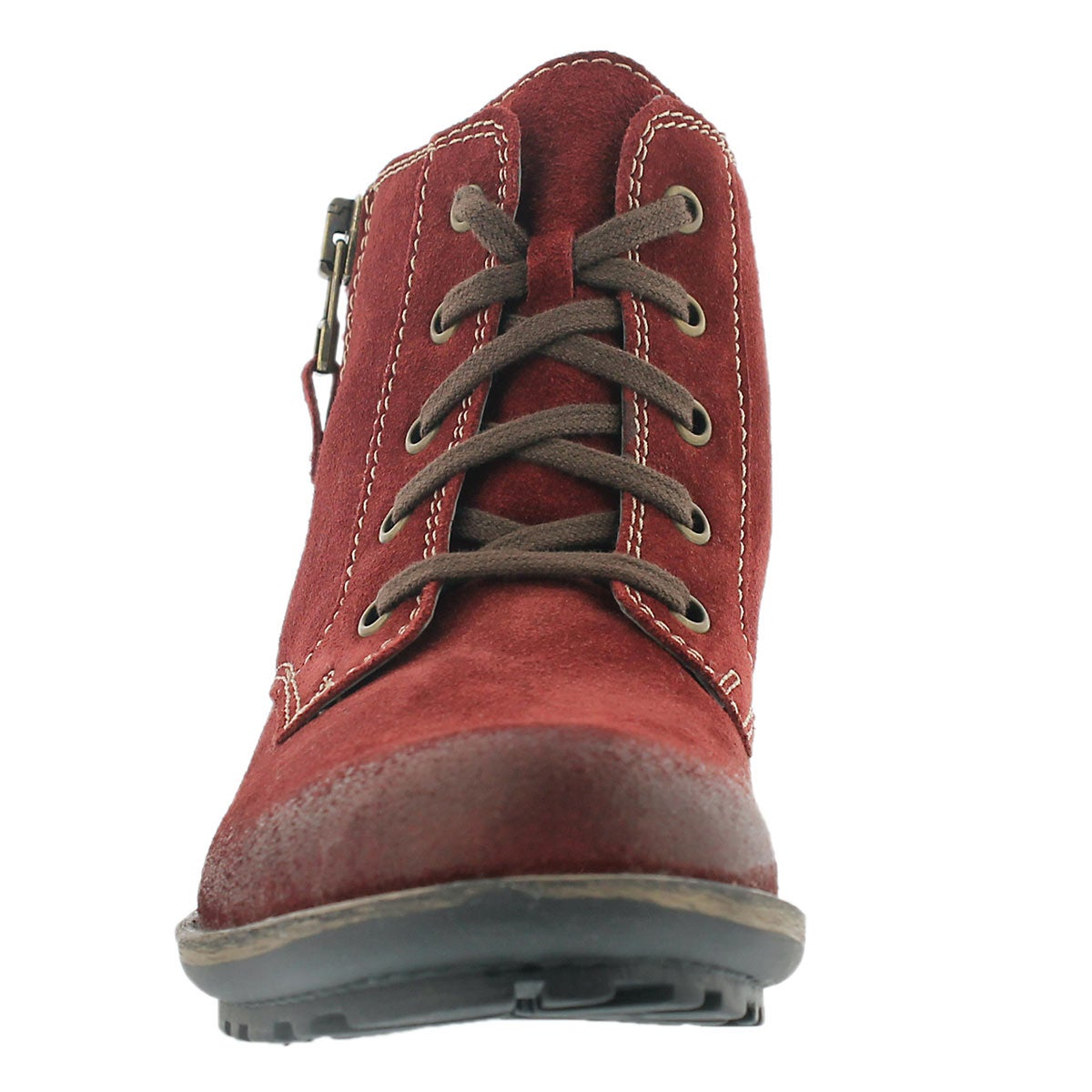 Lds Sandra 28 carmin ankle boot