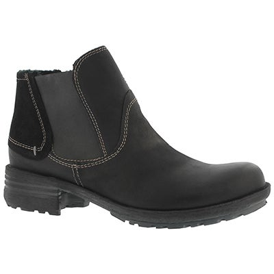 Lds Sandra 56 schwarz casual ankle boot