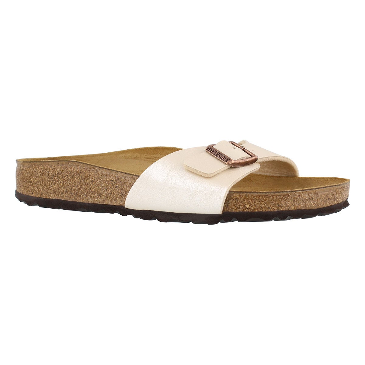 Lds Madrid white pearl BF sandal