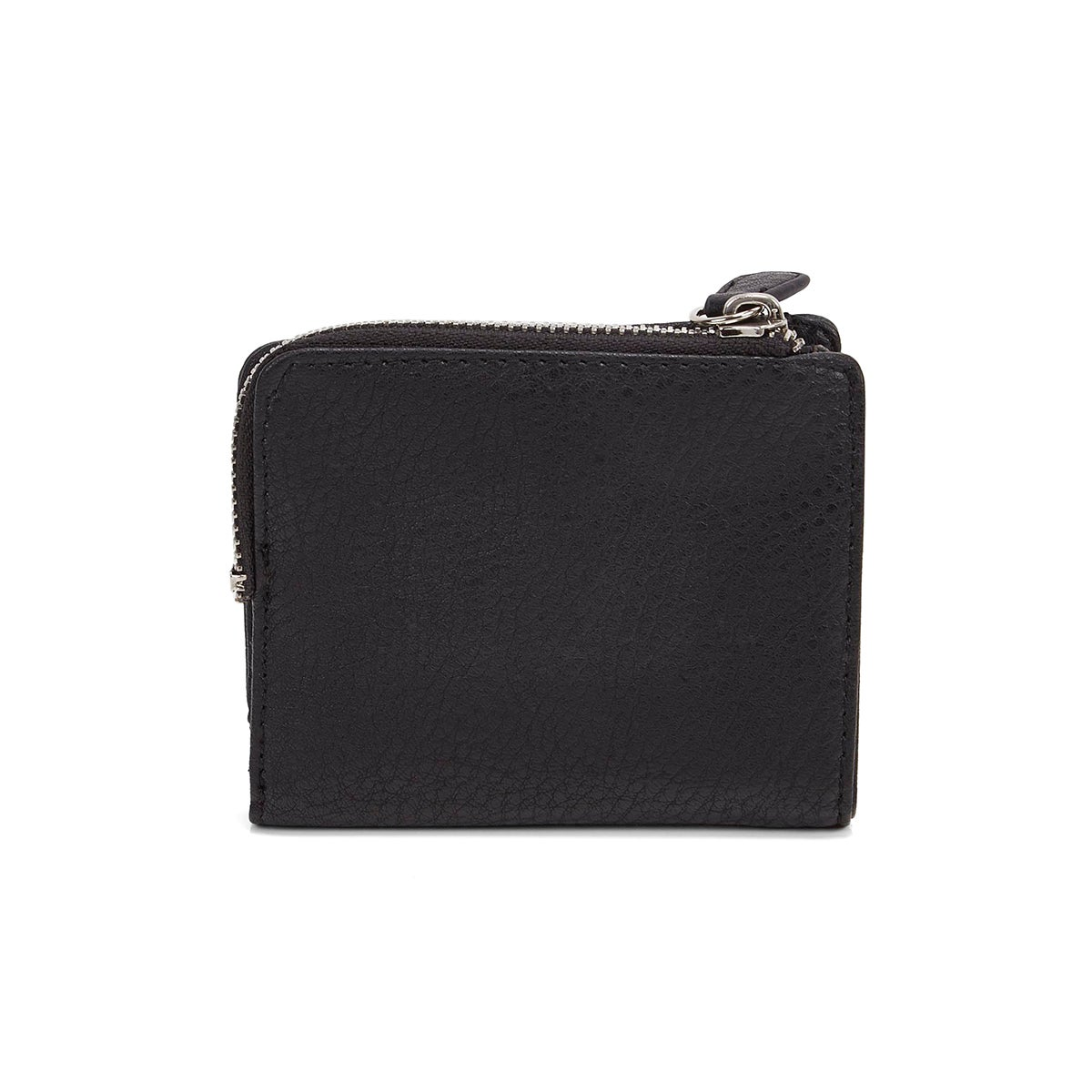Mns Gun Powder black top zip wallet
