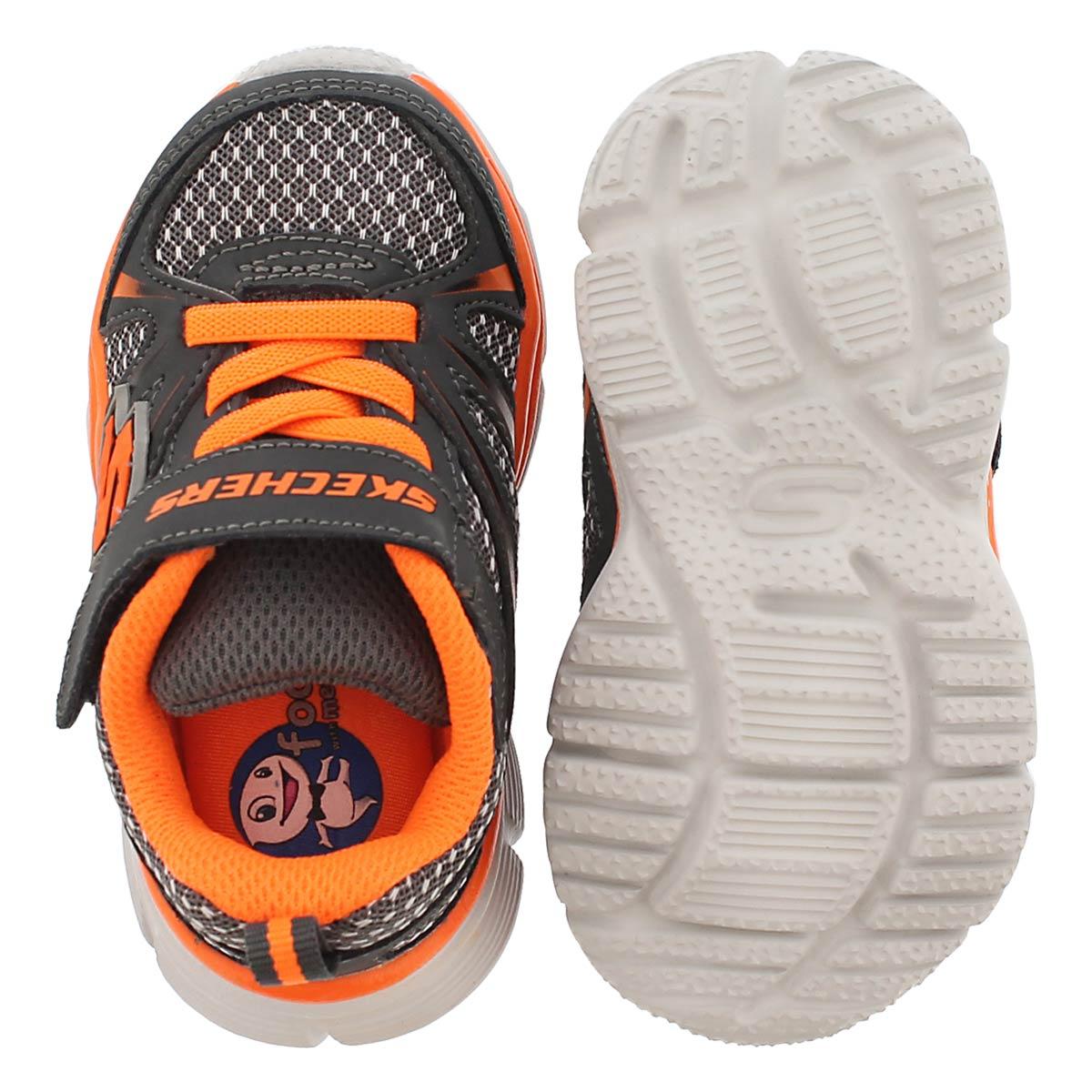 Inf Speedees Drifterz charc/orng sneaker