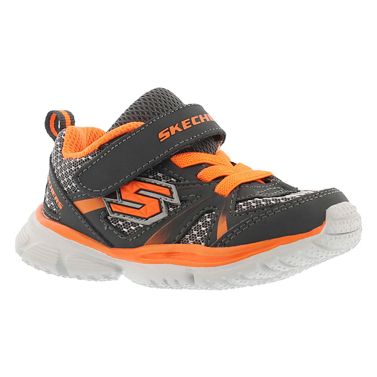 Infants' SPEEDEES DRIFTERZ grey/orange sneakers
