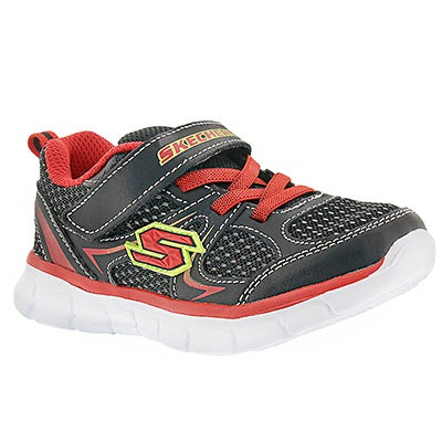 Skechers Infants' MINI DASH black/red sneakers