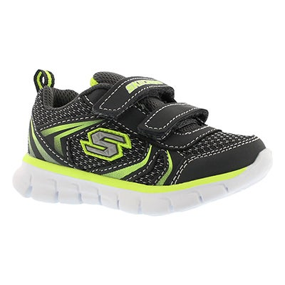 Inf Mini Sprint char/lime 2 strp sneaker