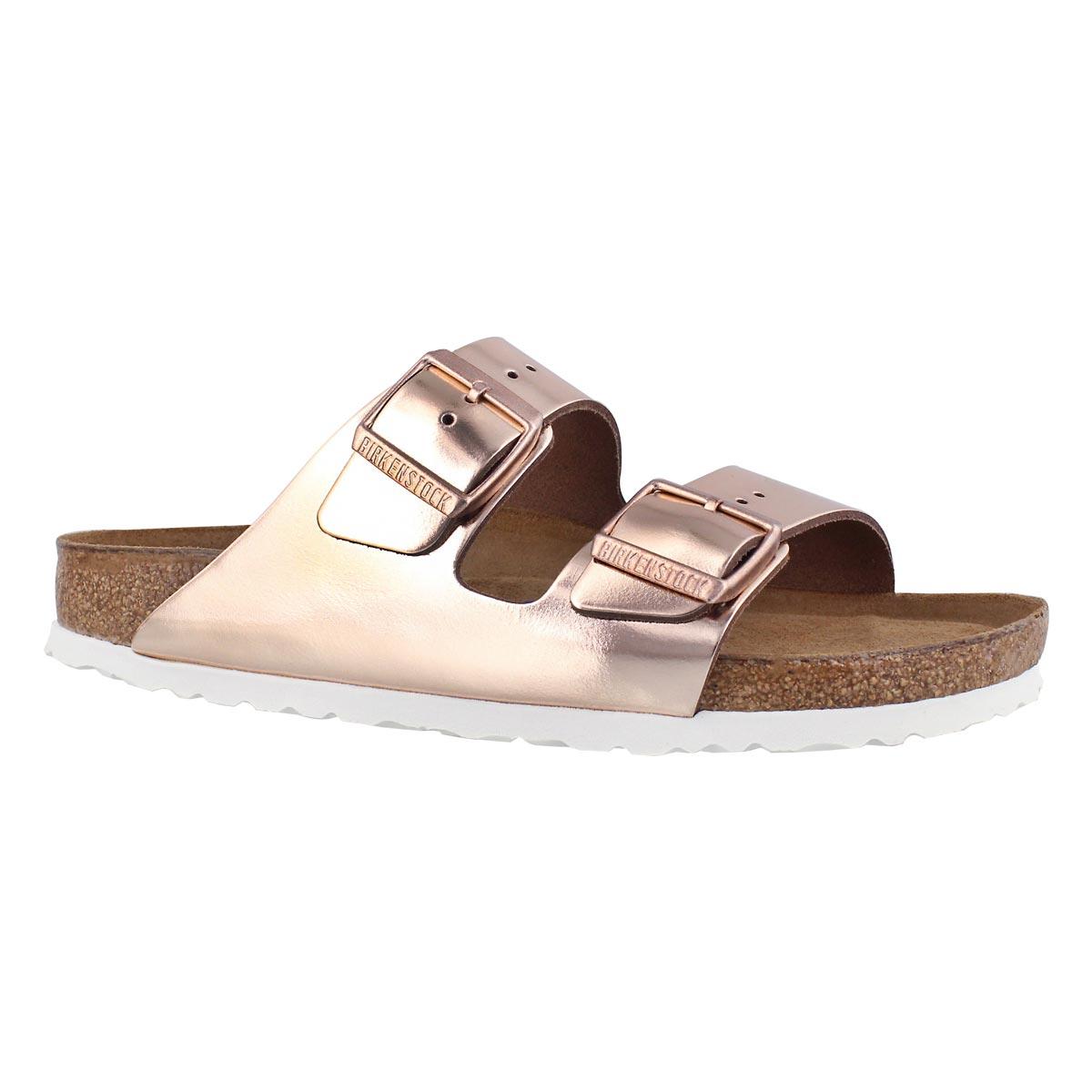 Women's ARIZONA LTR metallic cpr sandals -Narrow