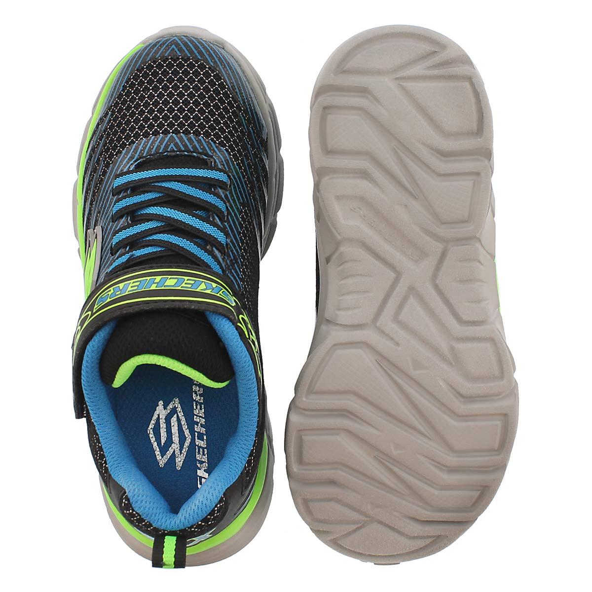 Bys Rive blk/blu slip on sneaker