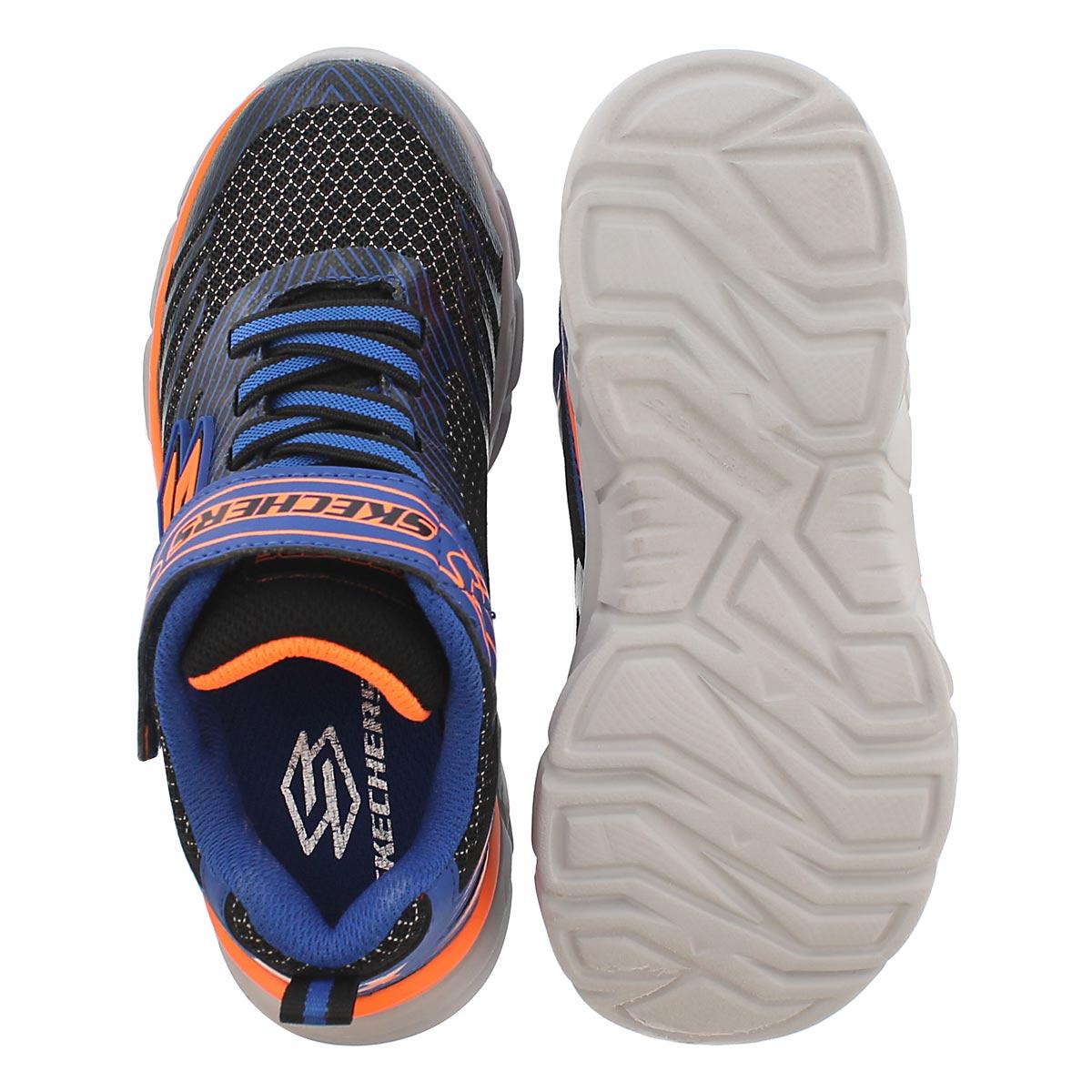 Bys Rive nvy/orange slip on sneaker