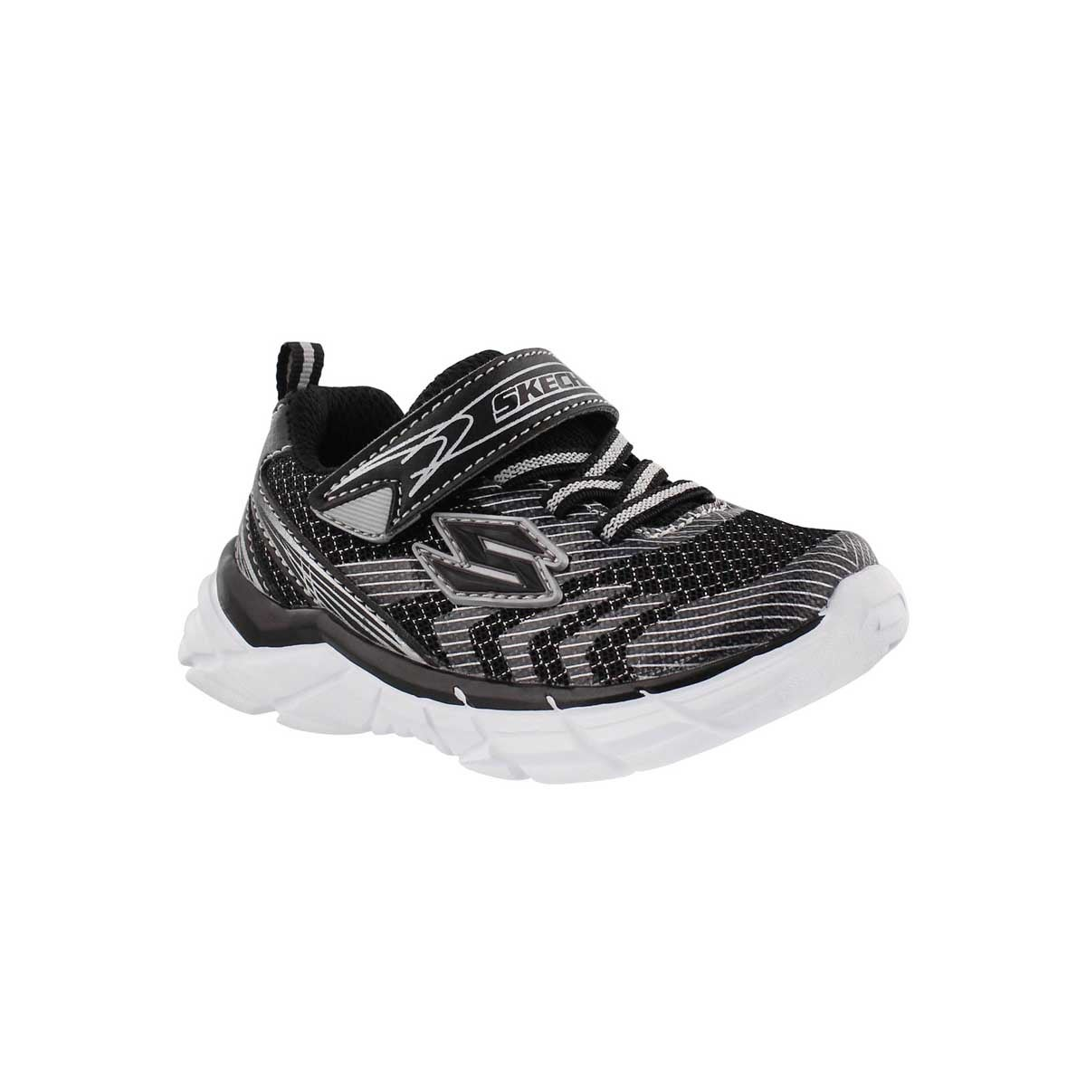 Infants' RIVE black/silver sneakers