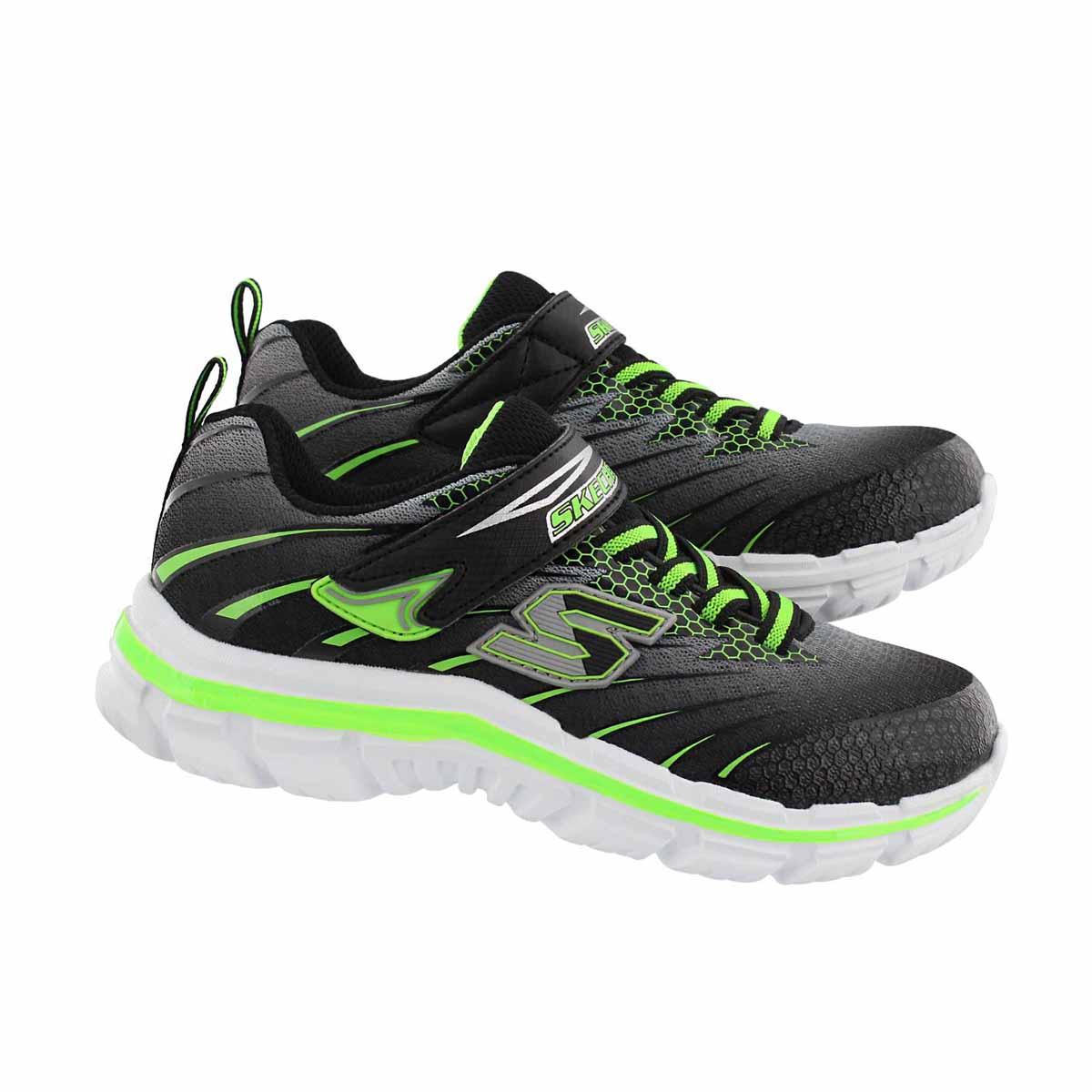 Bys Nitrate Pulsar blk/grn sneaker