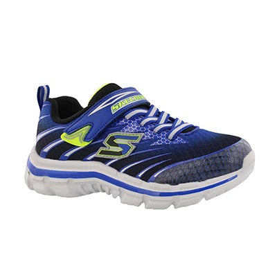 Skechers Boys' NITRATE PULSAR blue/black sneakers