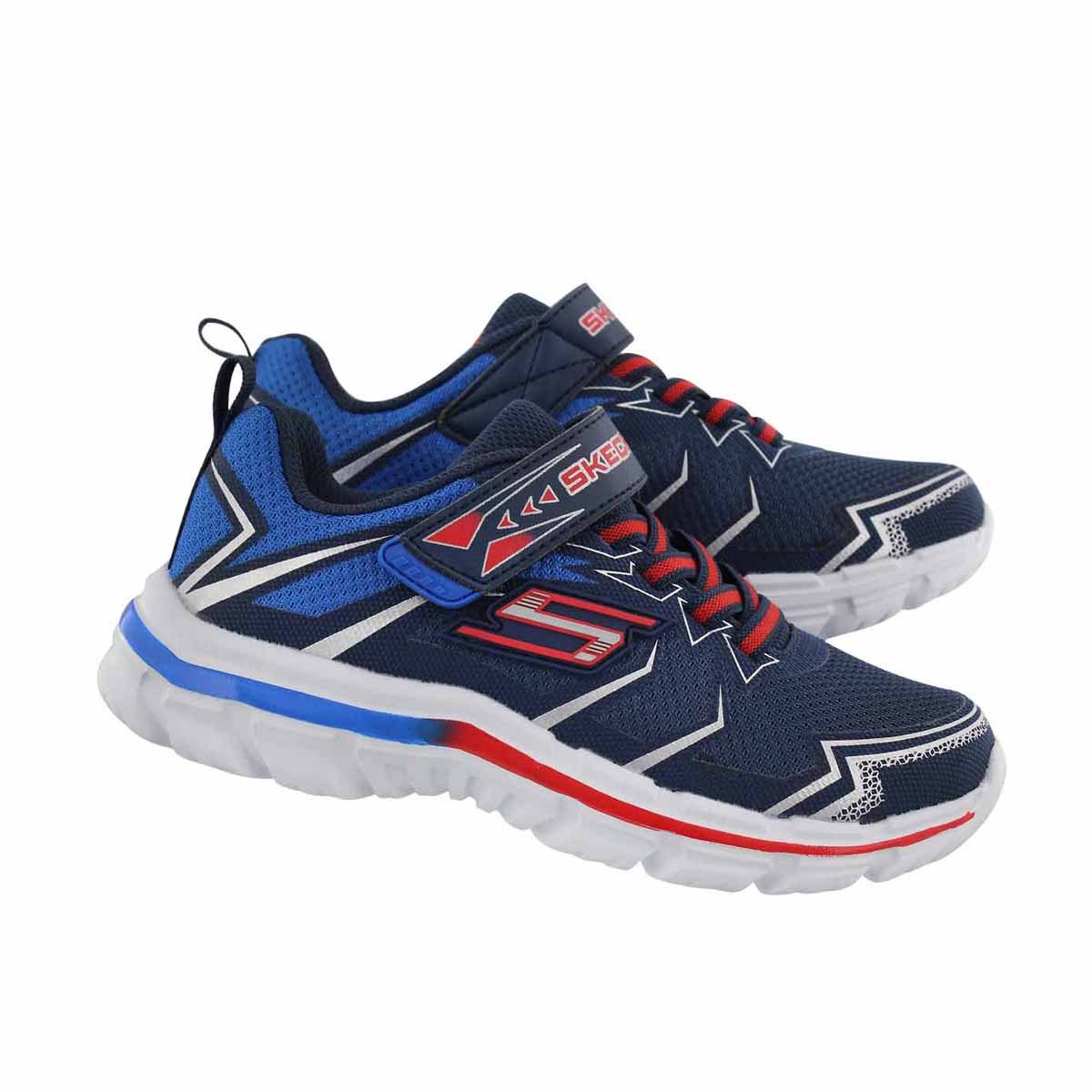 Bys Nitrate Ion Blast navy/ red sneaker
