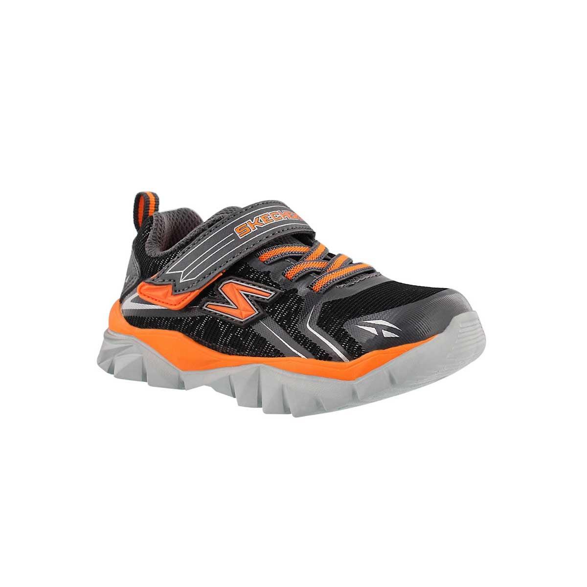 Inf Blazar blk/char/orange sneaker
