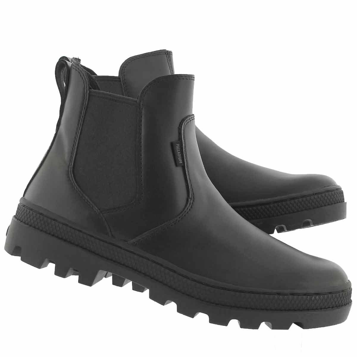 Lds Pallabosse blk chelsea boot