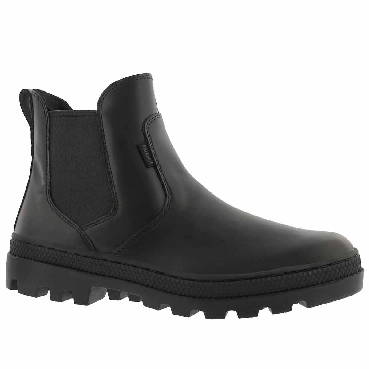 Women's PALLABOSSE black chelsea boots