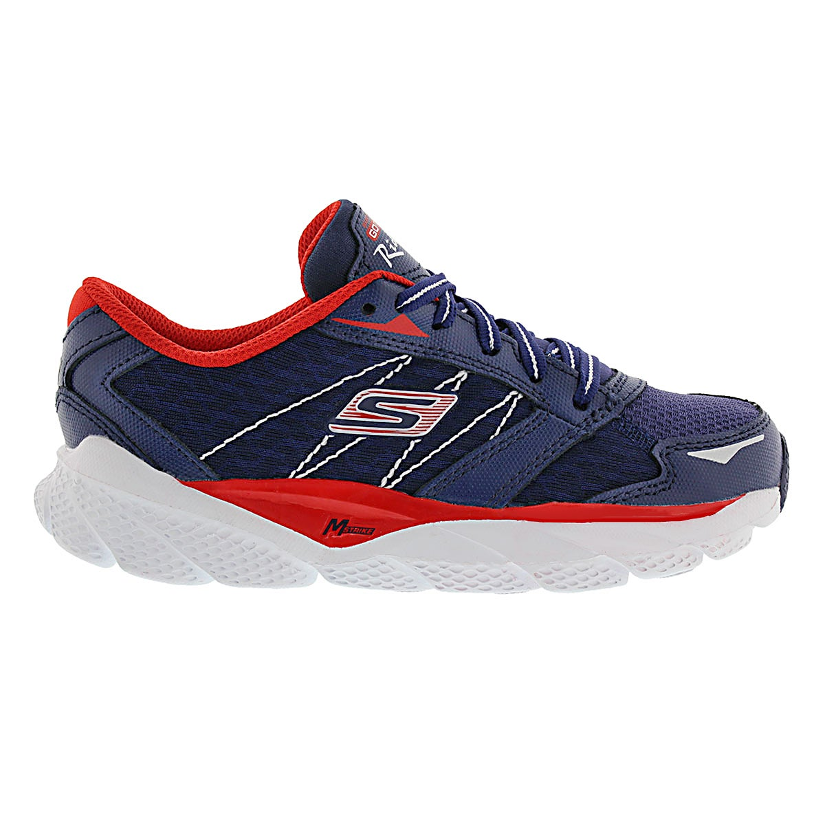 Bys Ultra Ride navy/red lace up runner