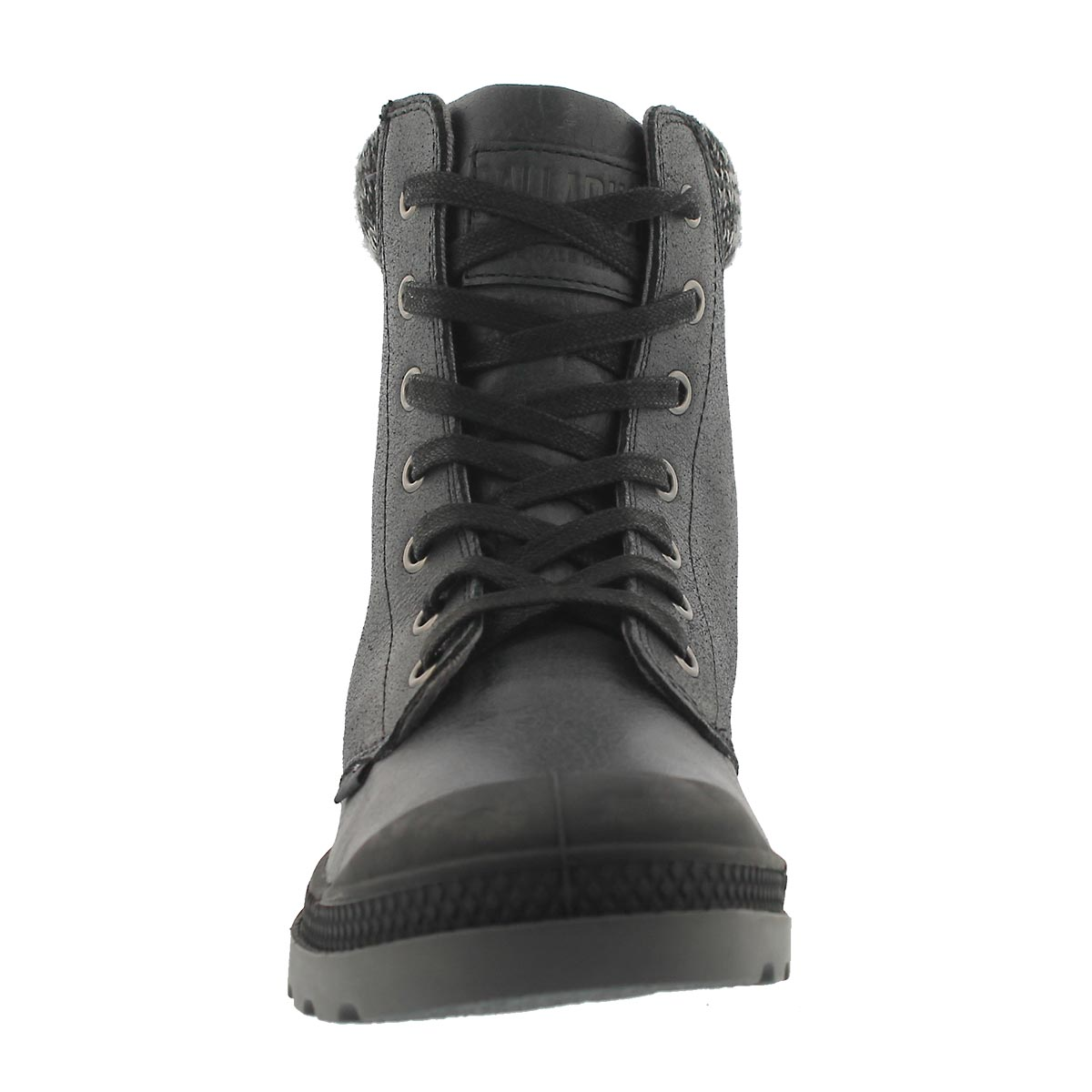 Lds PampaHiKnit LP blk/gry ankle boot