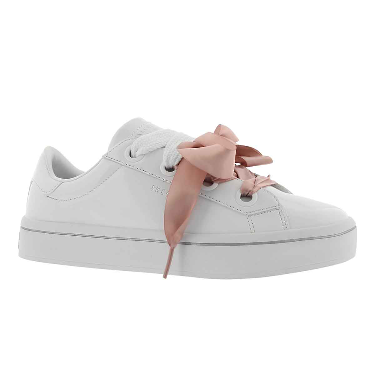 Women's HI-LITE white lace up sneakers