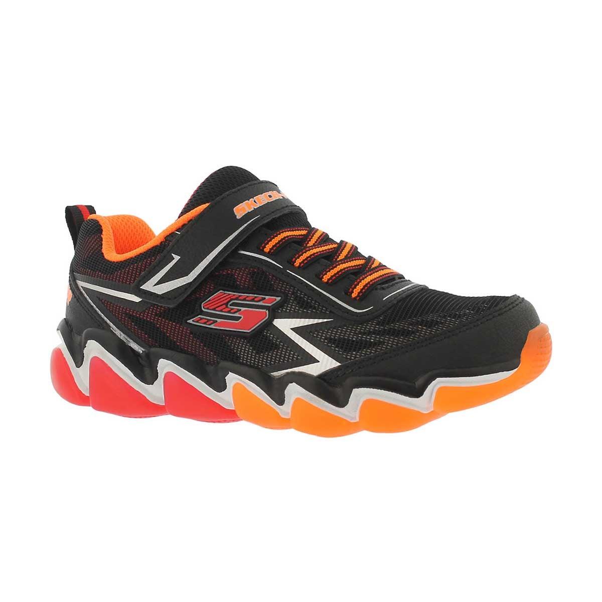Boys' SKECH-AIR 3.0 black/red sneakers