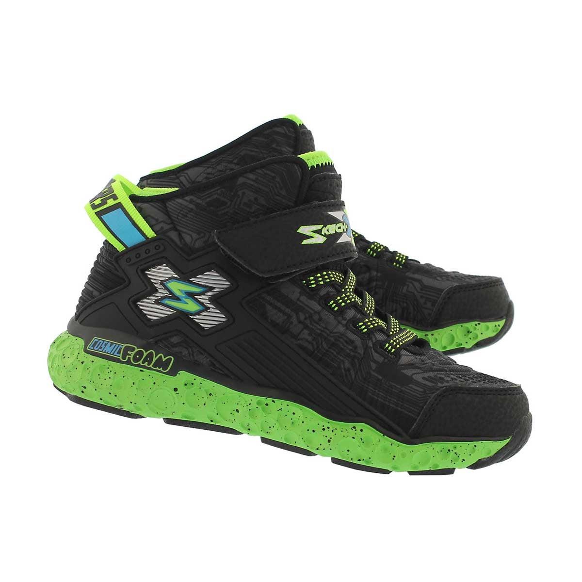 Bys Cosmic Foam blk/lime sneaker