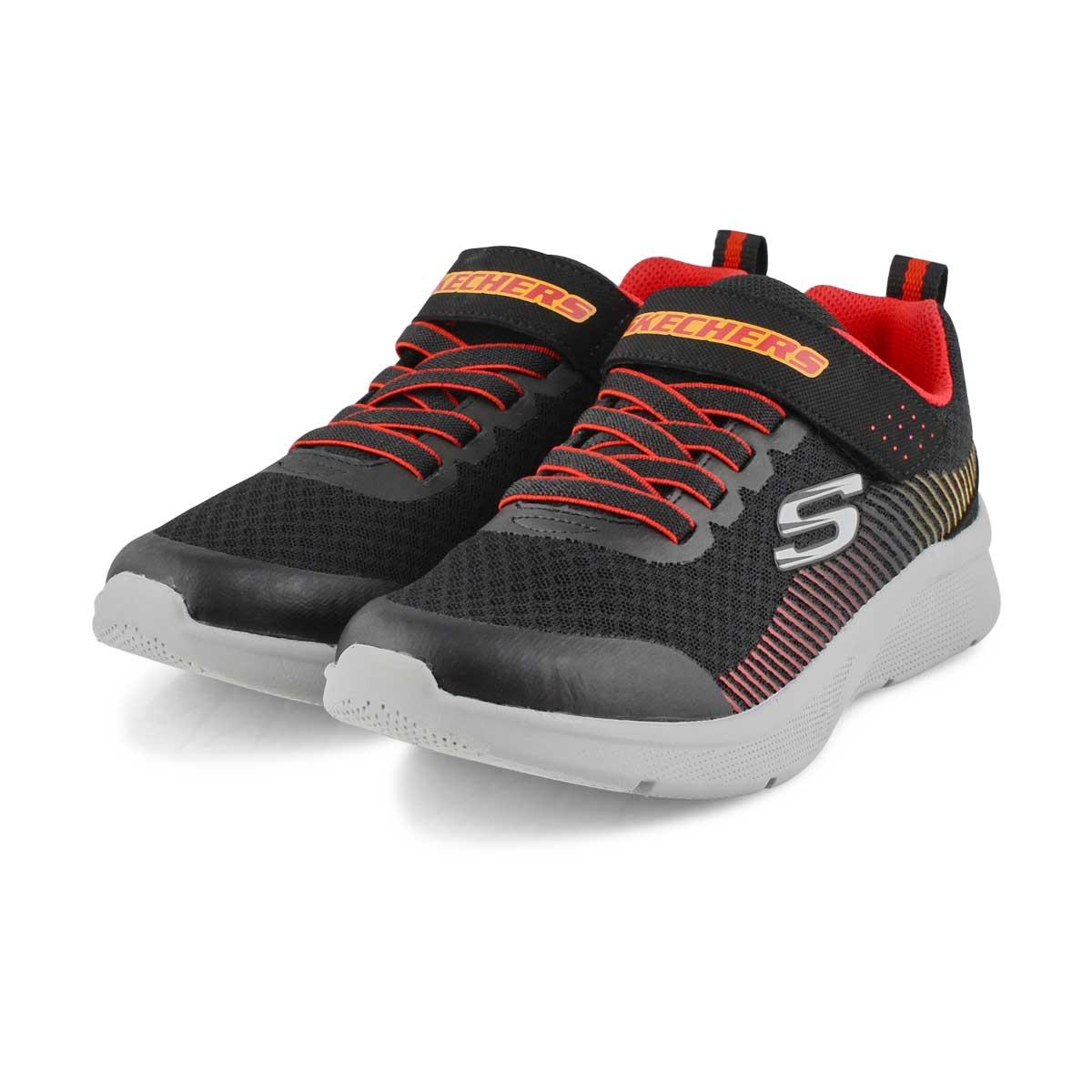 Bys Microspec blk/red sneaker