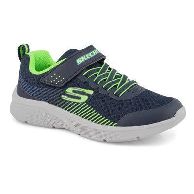 Bys Microspec nvy/lme sneaker