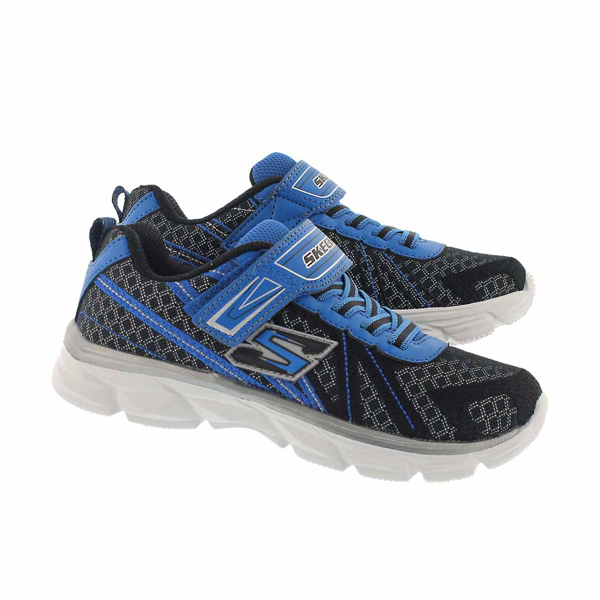 Bys Advance black/blue sneaker