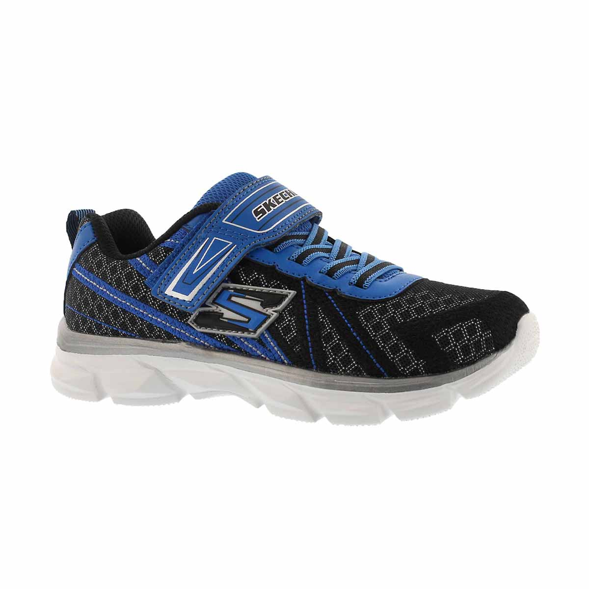 Boys' ADVANCE black/blue sneakers