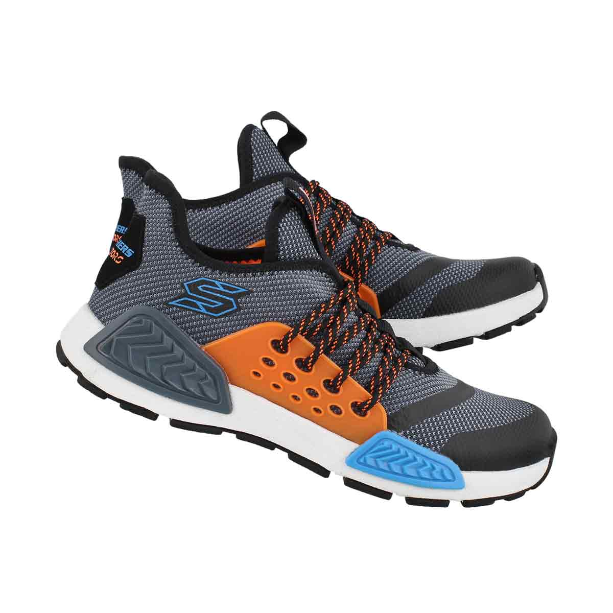 Bys Kinectors blue/mlti lace up sneaker