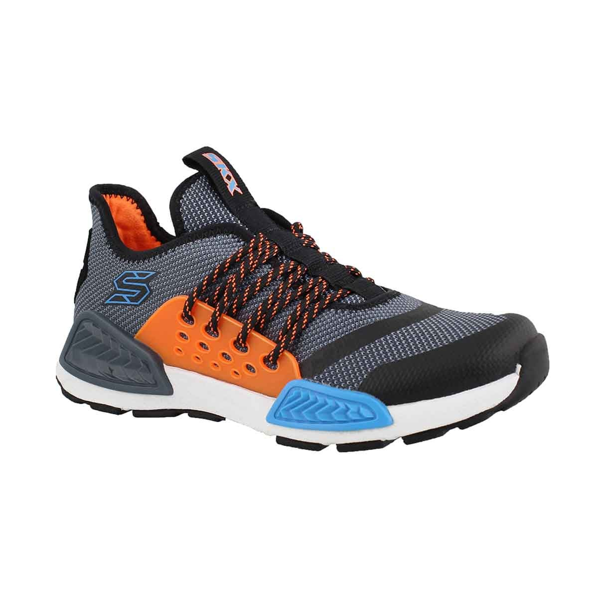 Boys' KINECTORS blue/mlti lace up sneakers
